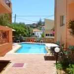 Hotel Elotia na Krétě v letovisku Agios Apostoli