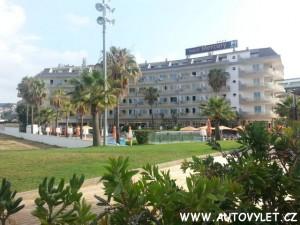 Hotel Mercury Santa Susanna Costa del Maresme Španělsko 2