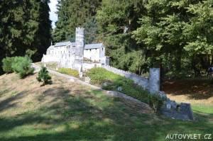 Hrad Bezděz - Boheminium Park Mariánské Lázně