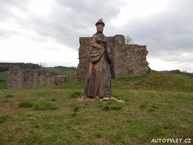 hrad borotín zřícenina 2