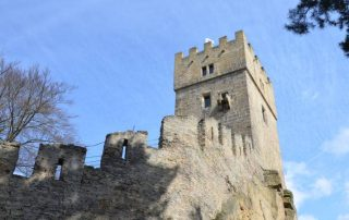 hrad helfenburk ostrý úštěk