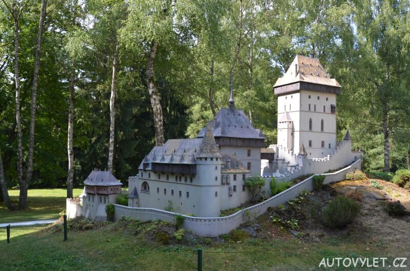Hrad Karlštejn - Boheminium Park Mariánské Lázně