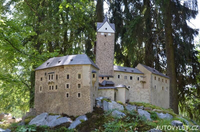 Hrad Loket - Boheminium Park Mariánské Lázně