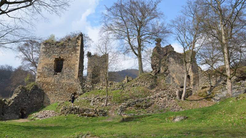 hrad osek rýzmburk