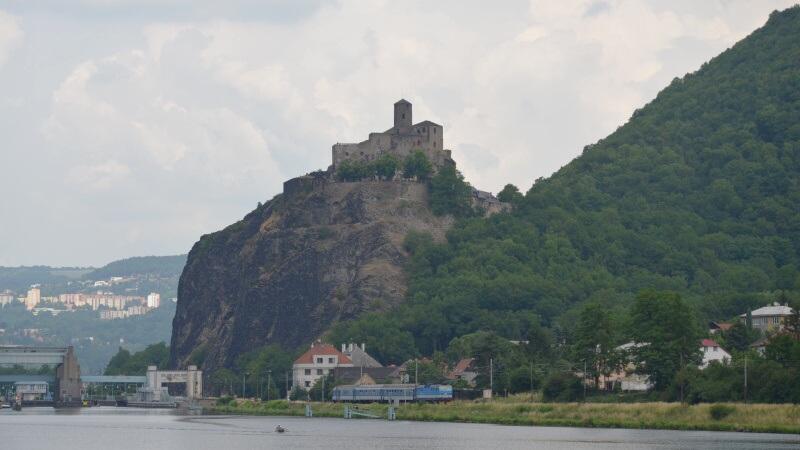 Hrad Střekov v Ústí nad Labem