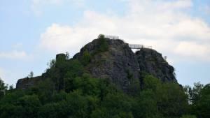 Hrad Tolštejn - zřícenina Jiřetín pod Jedlovou