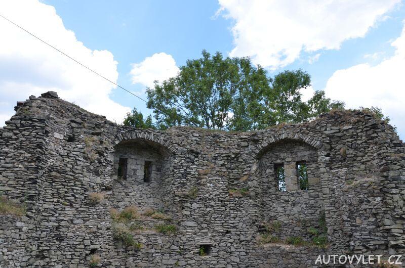 Hrad Tolštejn - zřícenina Jiřetín pod Jedlovou 11