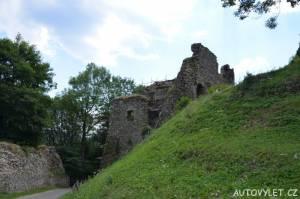 Hrad Tolštejn - zřícenina Jiřetín pod Jedlovou 12