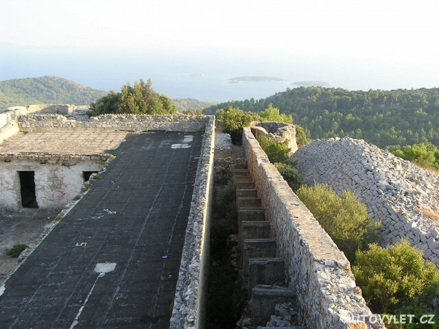 Hum vyhlídka - ostrov Korčula Chorvatsko