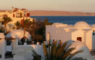 hurghada egypt hotelový komplex