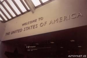 Imigrační kontrola po příletu do USA