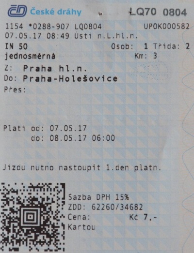 in 50 jednosměrná Praha