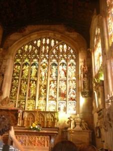 Úchvatný interiér kostela Holy Trinity Church