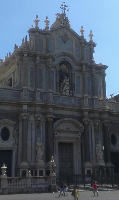 Catania Itálie Sicílie