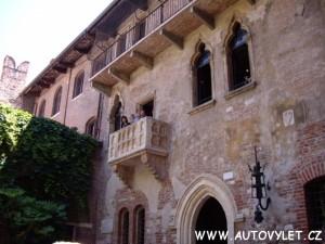Itálie Verona a Benátky 2
