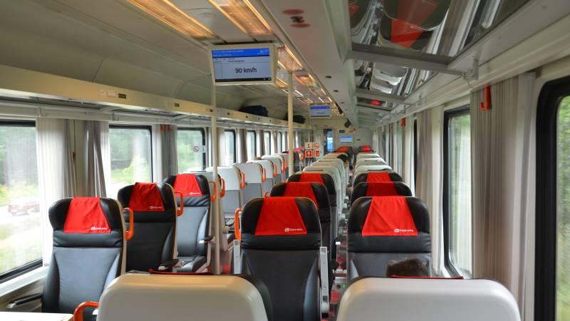 Jak cestovat první třídou vlakem ČD