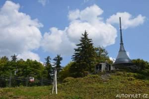 Ještěd a lanovka - Boheminium Park Mariánské Lázně
