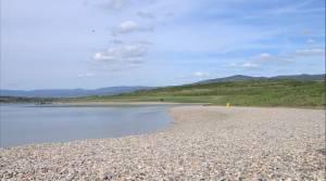 jezero milada hlavní pláž
