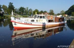 Jihočeská plavební - loď Pálava