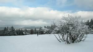 Jizerské hory v zimě