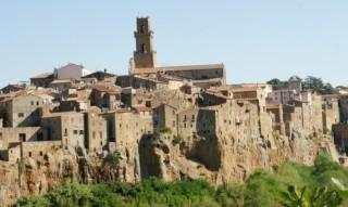 Itálie jižní Toskánsko