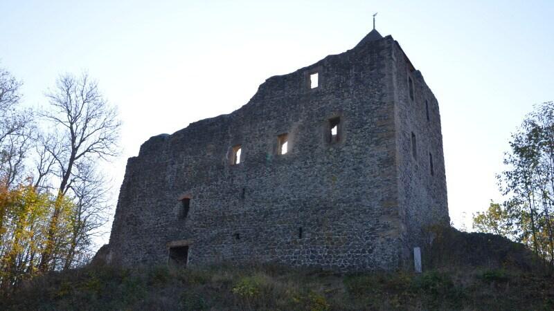 Kamenický hrad - Česká Kamenice