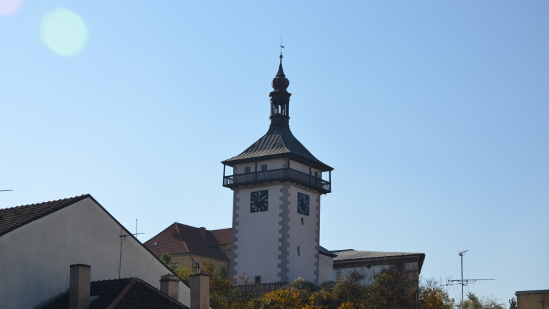 Kamenná věž Hláska - rozhledna v Roudnici nad Labem