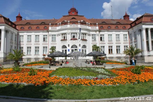 Karlovy Vary lázeňské město