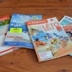 Nové katalogy cestovních kanceláří