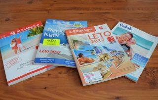 katalogy cestovních kanceláří