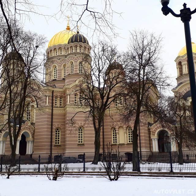 Katedrála Chrám Christova narození - Riga