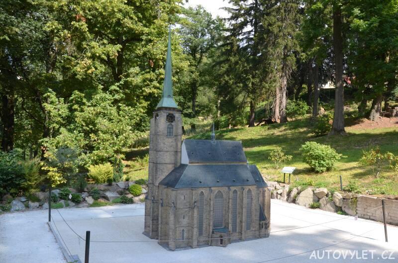 Katedrála sv.Bartoloměje Plzeň - Boheminium Park Mariánské Lázně