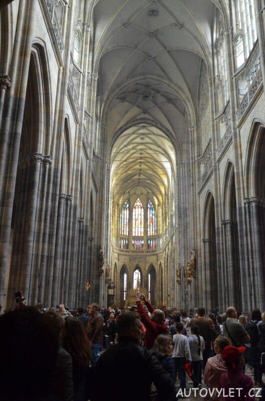 Katedrála svatého Víta je v Praha