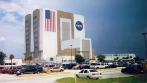 Kennedyho vesmírné středisko NASA Florida Usa