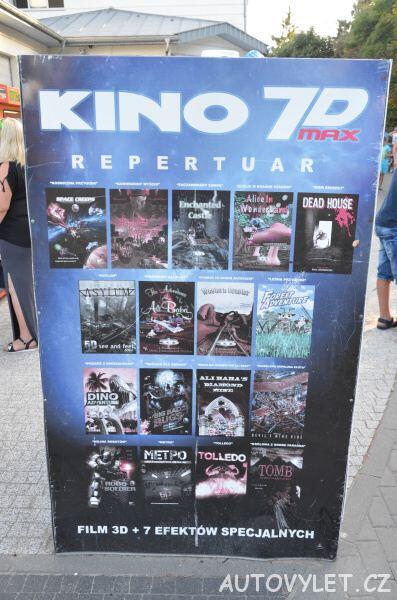 Kino 7D max Miedzyzdroje Polsko 2