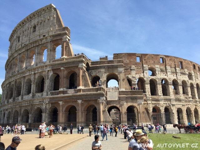 Koloseum - Řím Itálie