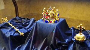 Korunovační klenoty - hrad Praha