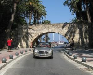kos řecko autem
