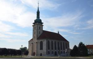 Kostel Nanebevzetí Panny Marie - Most