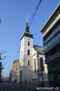 kostel sv. jakuba - kostnice brno