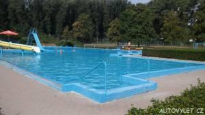 Koupaliště Litoměřice bazén s tobogánem