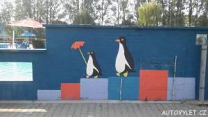 Koupaliště Litoměřice brouzdaliště tučňáci