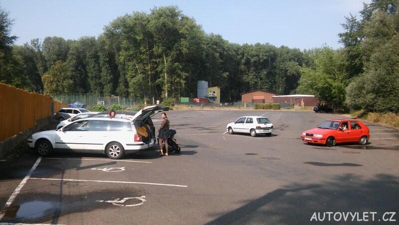 Koupaliště Litoměřice parkování