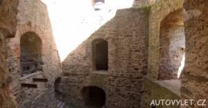 Krakovec zřícenina hradu 2