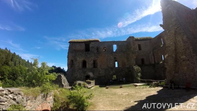 Krakovec zřícenina hradu 3