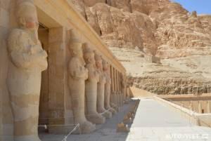 Královna Hatsepsut Egypt