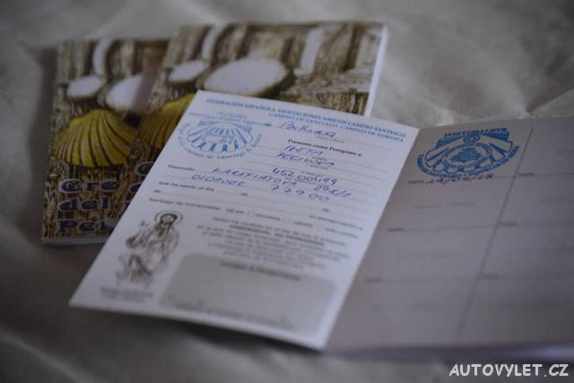 Kredenciál - certifikát poutníka