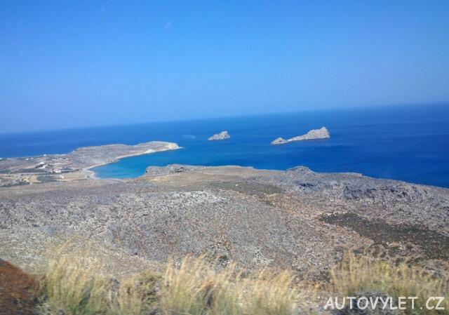 Xerokampos pláž - Kréta Řecko