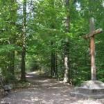 Kříž cestou k Hraběnčině vyhlídce