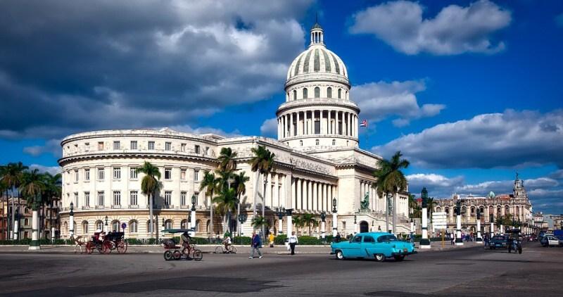 Kuba Havana a zdejší architektura